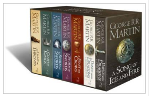 George R R Martin, ASOIAF 7 Book Box Set